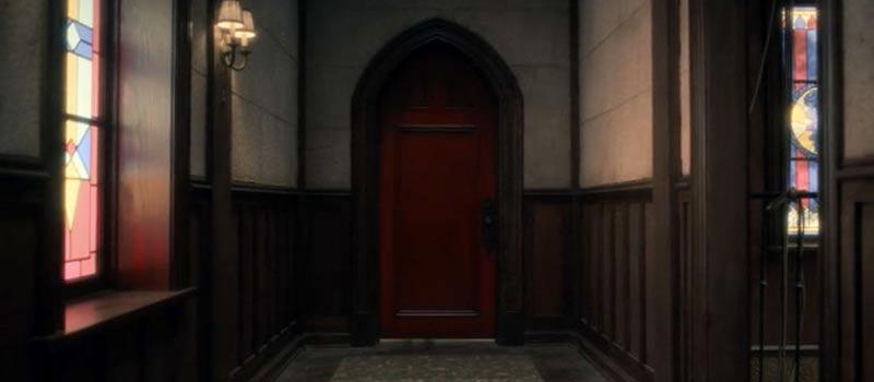 porta rossa in hill house di netflix