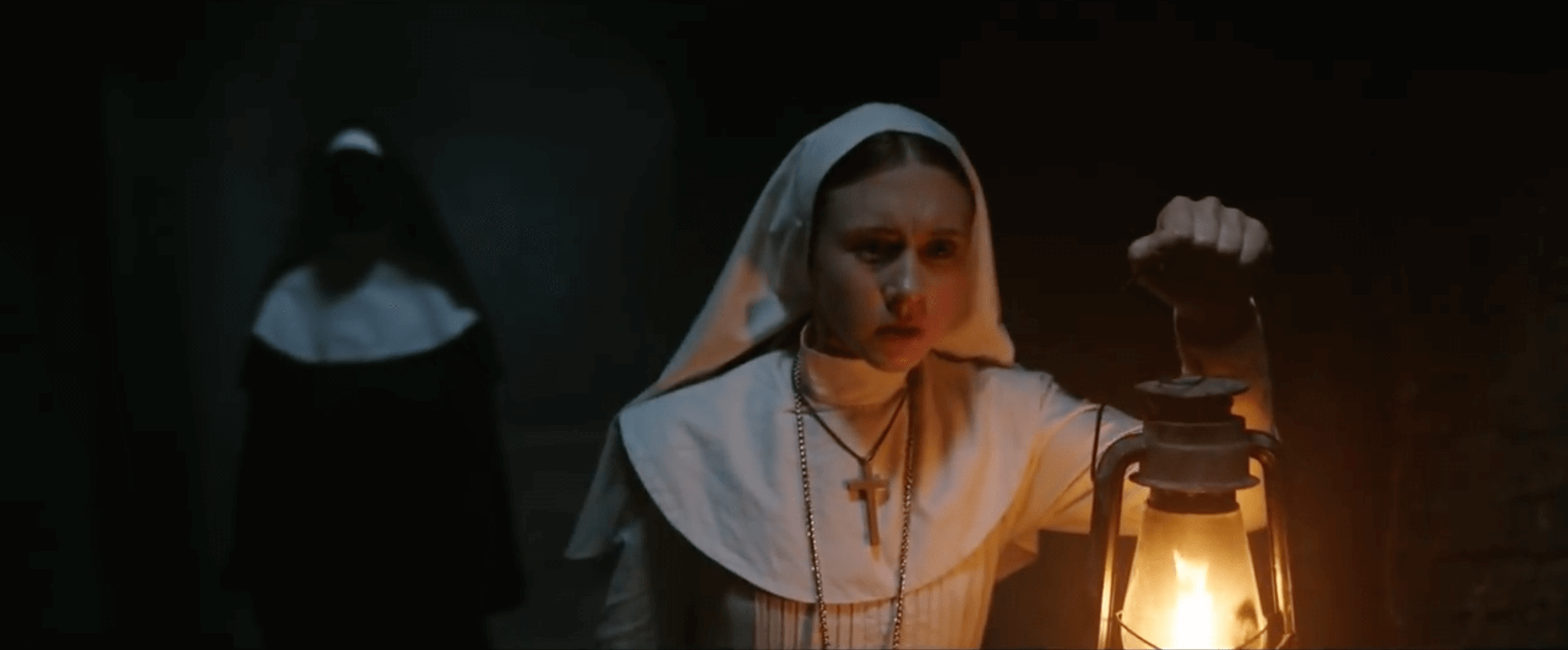 film the nun scena