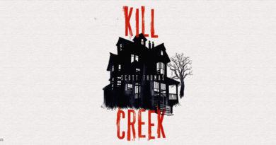kill creek copertina libro con lo sfondo della casa